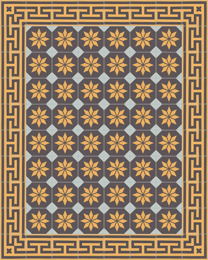 Floor tiles Floor Tiles multi-coloured Layouts and patterns SF 206 H e