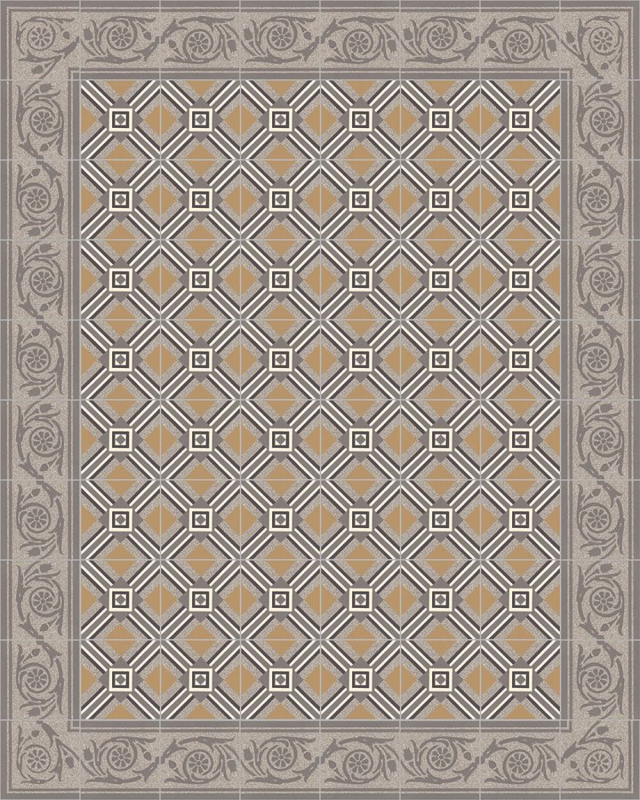 Floor tiles Floor Tiles multi-coloured Layouts and patterns SF 208 C e