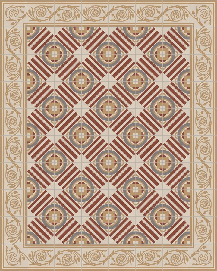 Floor tiles Floor Tiles multi-coloured Layouts and patterns SF 410 D