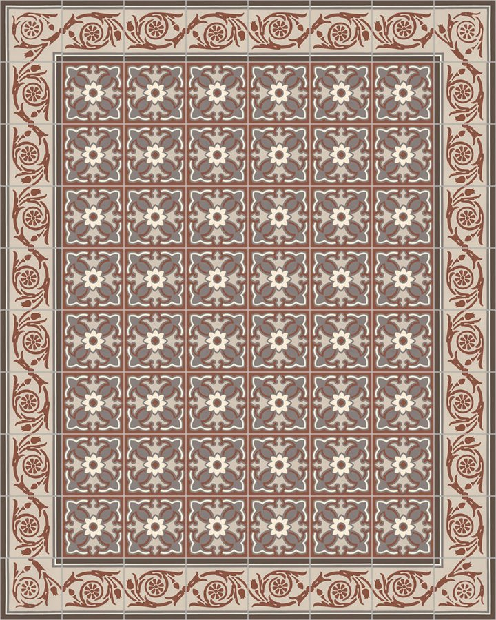 Floor tiles Floor Tiles multi-coloured Layouts and patterns SF 208 F