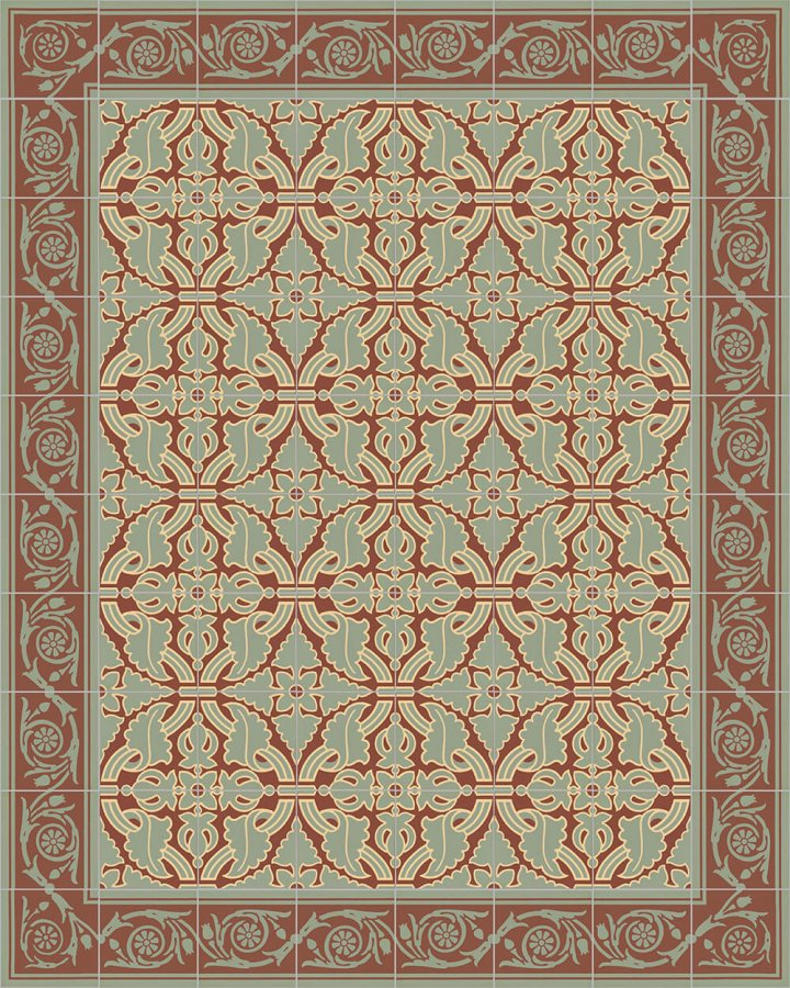 Floor tiles Floor Tiles multi-coloured Layouts and patterns SF 208 I e