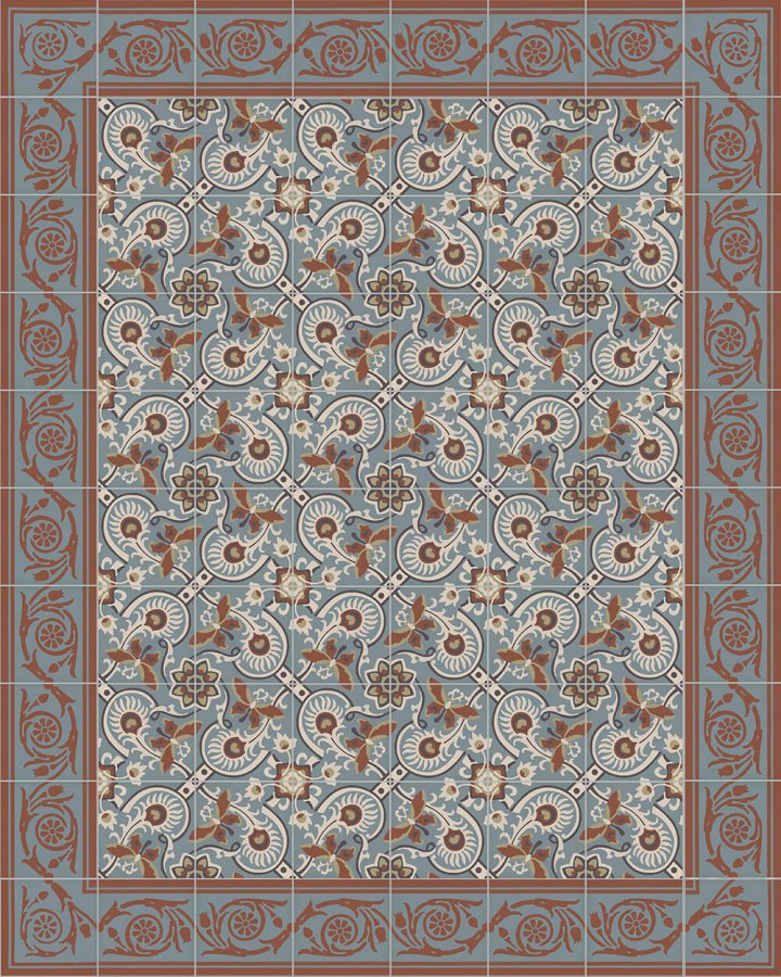 Floor tiles Floor Tiles multi-coloured Layouts and patterns SF 208 L