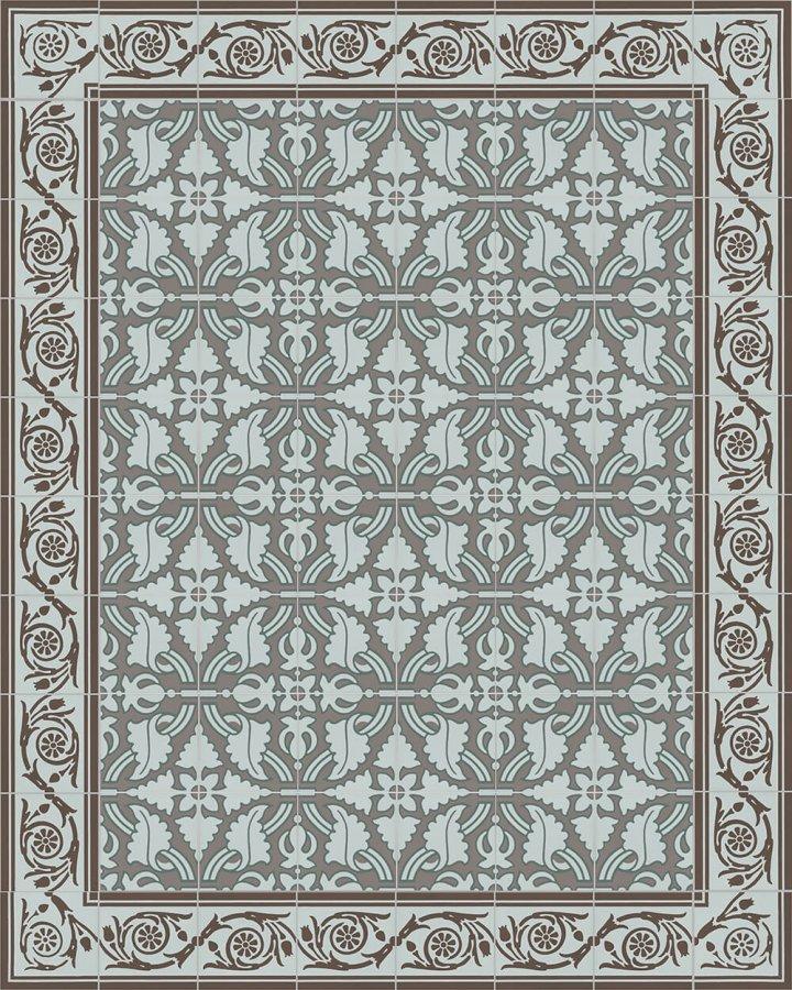 Floor tiles Floor Tiles multi-coloured Calepinage SF 208 R e