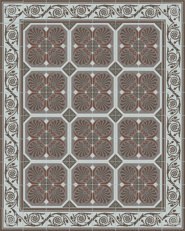 Floor tiles Floor Tiles multi-coloured Layouts and patterns SF 558 R