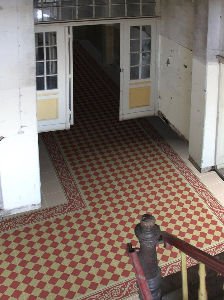 Floor tiles Floor Tiles multi-coloured Layouts and patterns SF 208 I
