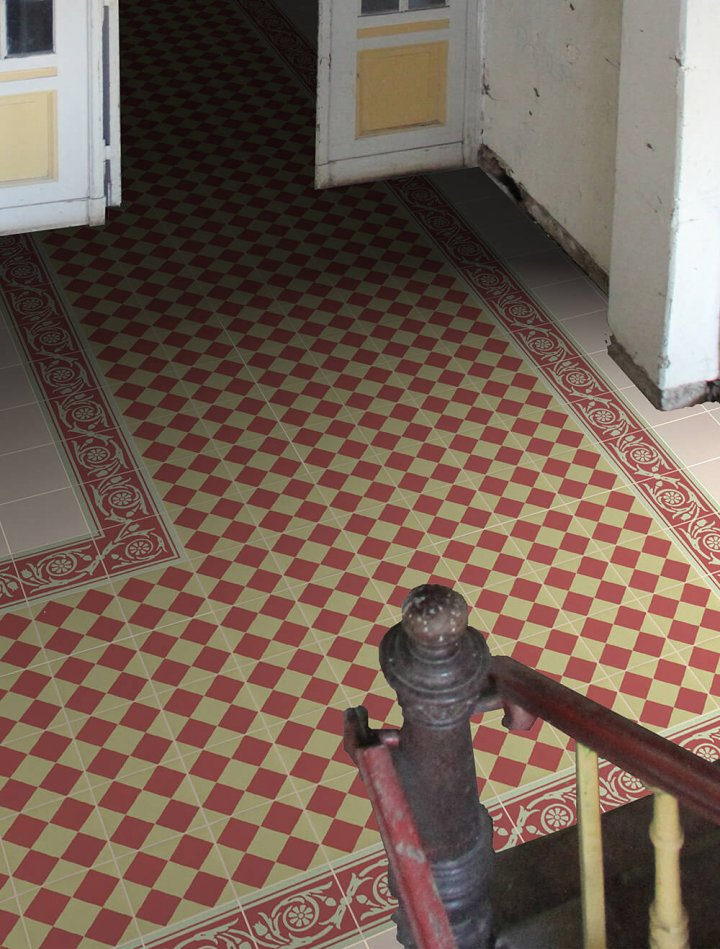 Floor tiles Floor Tiles multi-coloured Layouts and patterns SF 218 I