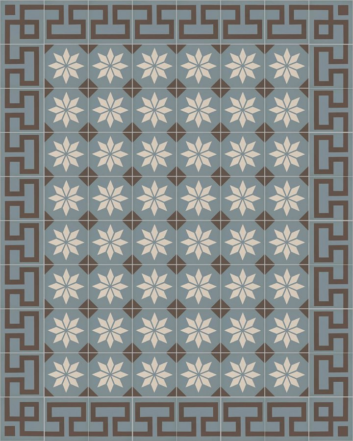 Floor tiles Floor Tiles multi-coloured Layouts and patterns SF 254 A