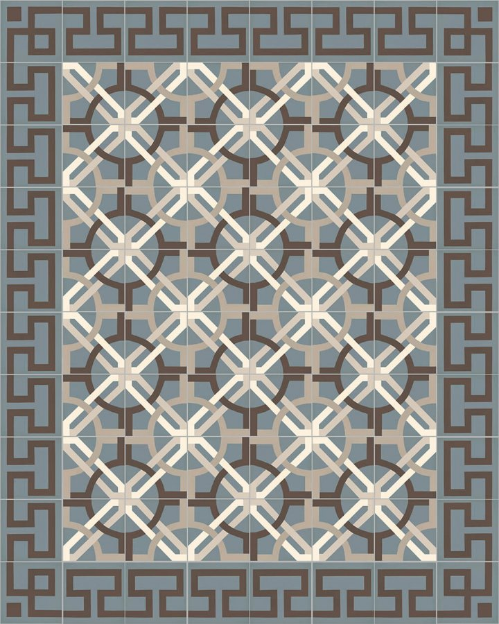 Floor tiles Floor Tiles multi-coloured Layouts and patterns Sf 254 A e