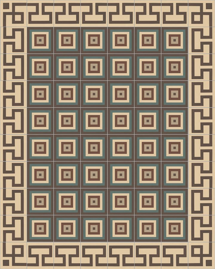 Floor tiles Floor Tiles multi-coloured Layouts and patterns SF 254 B