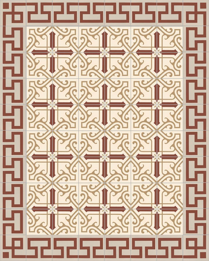 Floor tiles Floor Tiles multi-coloured Layouts and patterns SF 254 D e