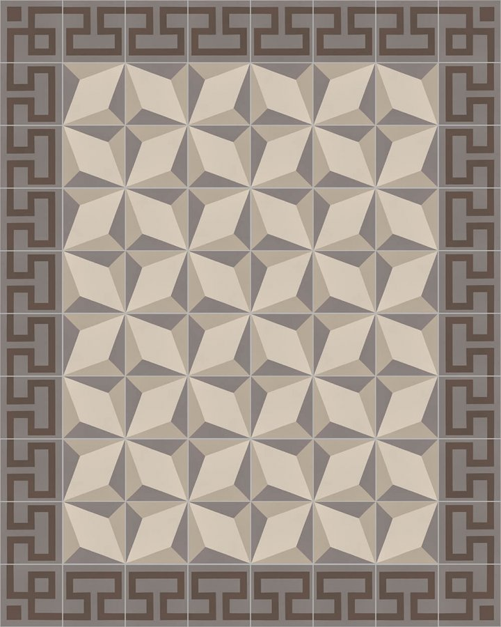 Floor tiles Floor Tiles multi-coloured Layouts and patterns SF 254 E