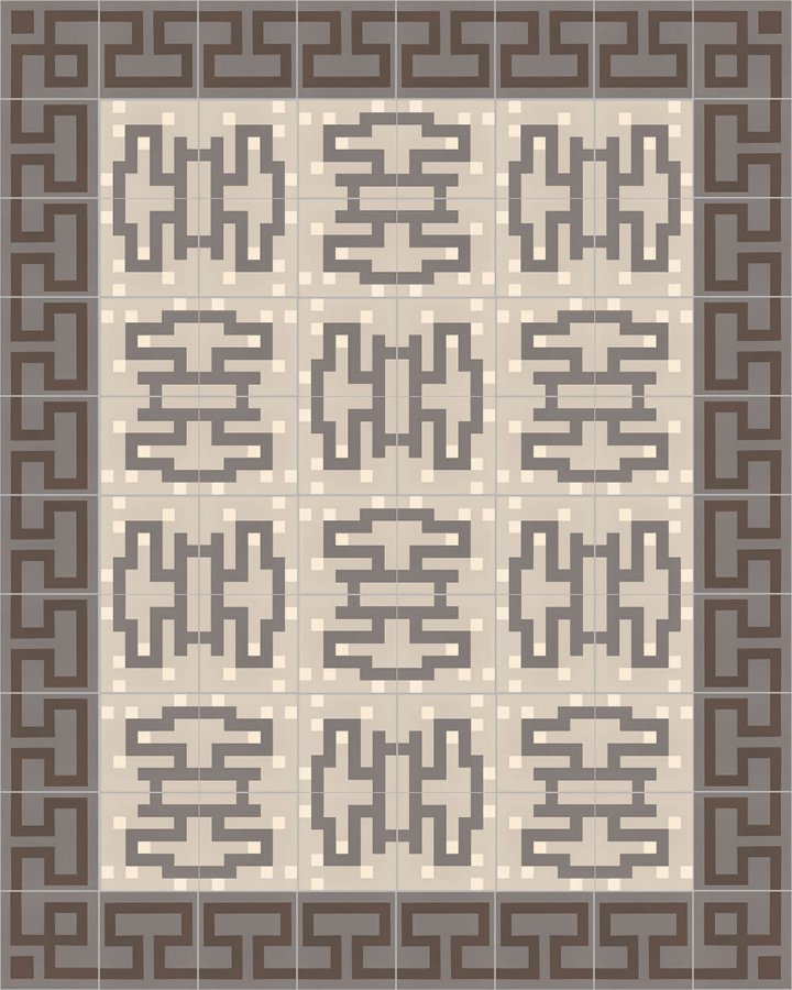 Floor tiles Floor Tiles multi-coloured Layouts and patterns SF 254 E e