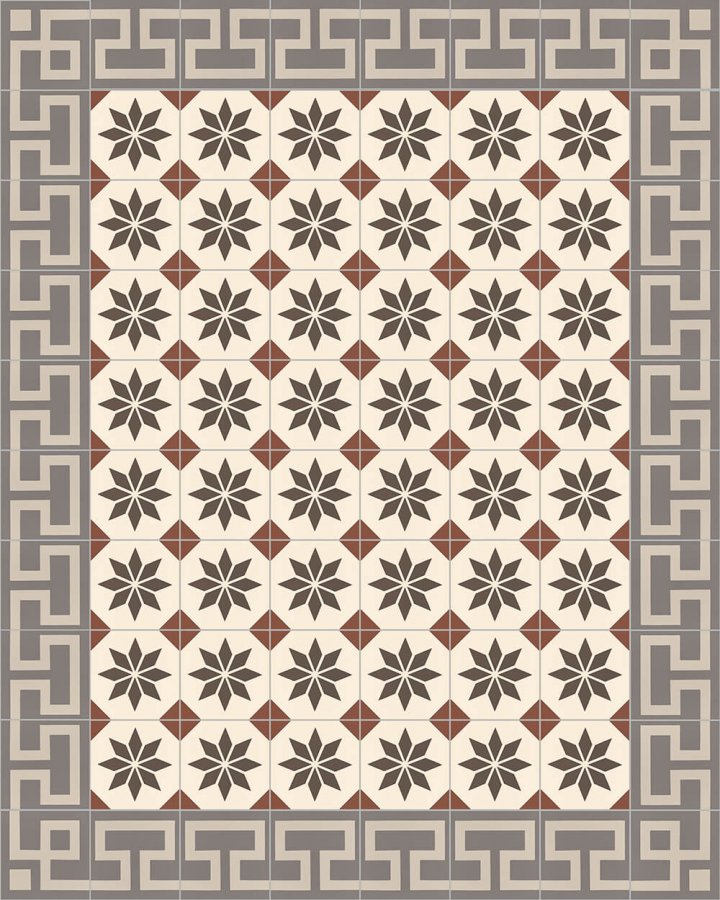 Floor tiles Floor Tiles multi-coloured Layouts and patterns SF 254 F e