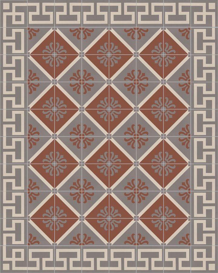 Floor tiles Floor Tiles multi-coloured Layouts and patterns SF 254 F