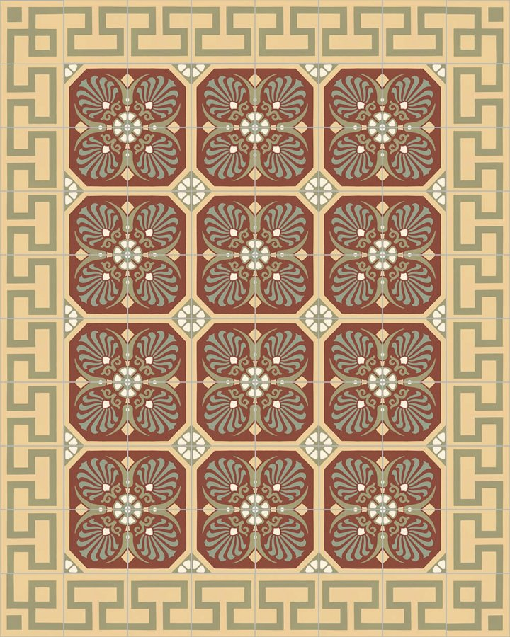 Floor tiles Floor Tiles multi-coloured Layouts and patterns SF 254 I