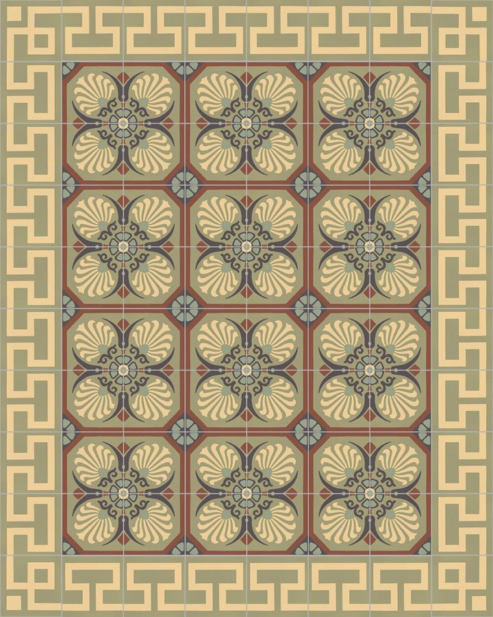 Floor tiles Floor Tiles multi-coloured Layouts and patterns SF 254 J e