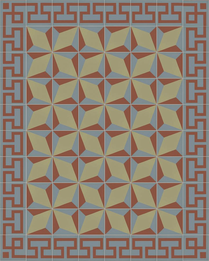 Floor tiles Floor Tiles multi-coloured Layouts and patterns SF 254 L
