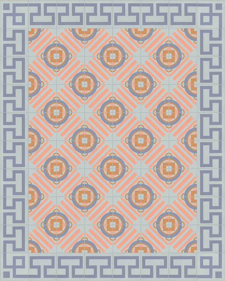 Floor tiles Floor Tiles multi-coloured Layouts and pattern SF 254 N e