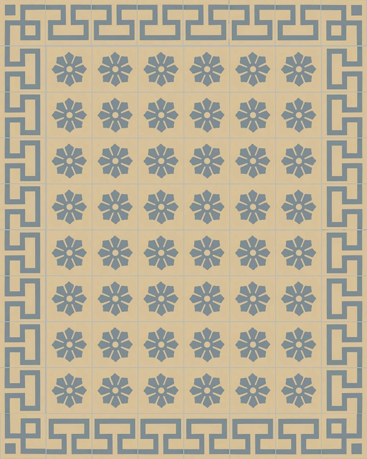 Floor tiles Floor Tiles multi-coloured Layouts and patterns SF 244 O