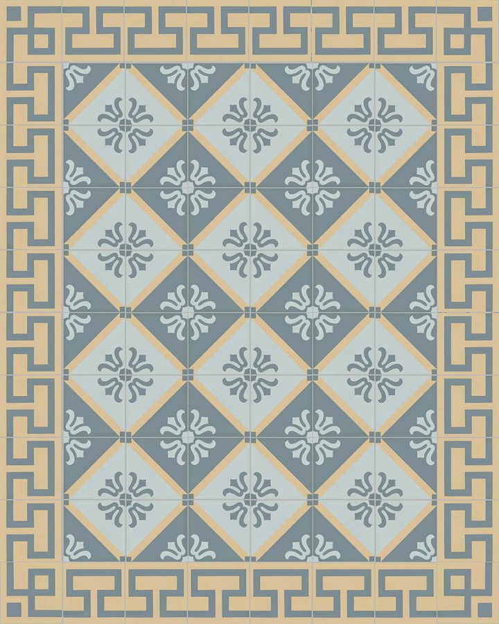 Floor tiles Floor Tiles multi-coloured Layouts and patterns SF 254 O