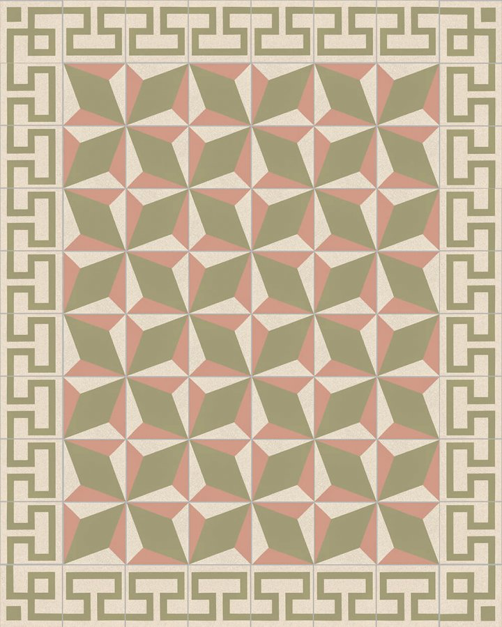 Floor tiles Floor Tiles multi-coloured Layouts and patterns SFTG 302 P