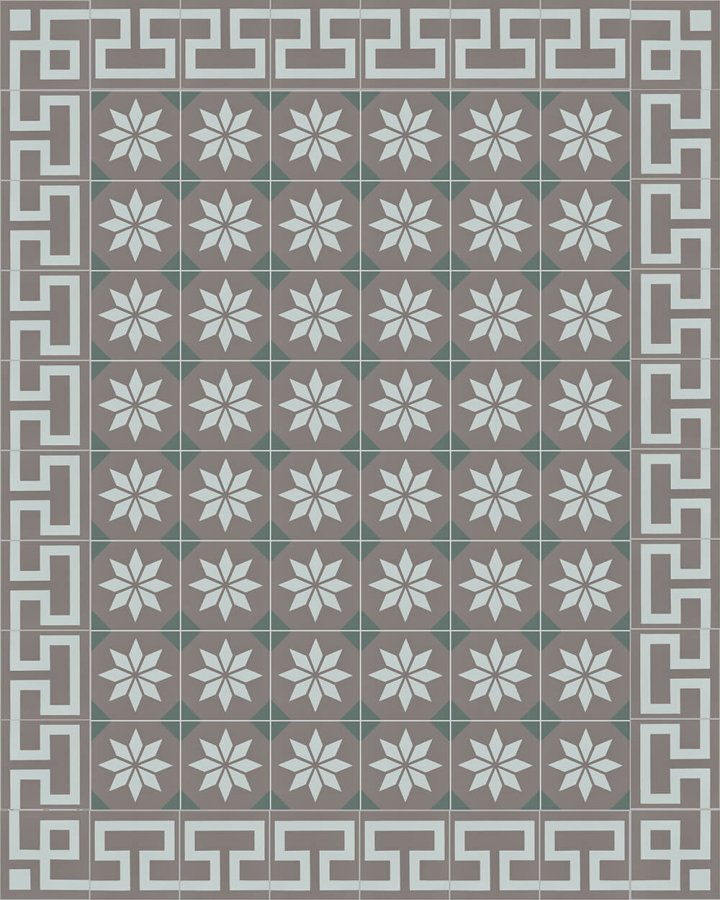 Floor tiles Floor Tiles multi-coloured Layouts and patterns SF 254 R e