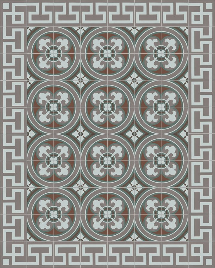 Floor tiles Floor Tiles multi-coloured Layouts and patterns SF 550 R