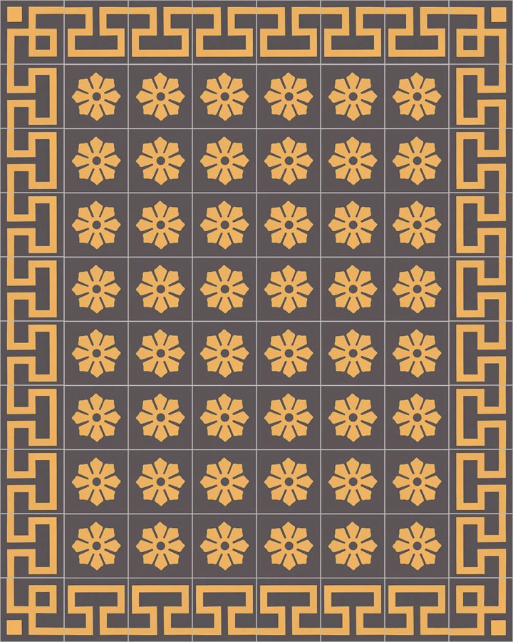 Floor tiles Floor Tiles multi-coloured Layouts and patterns SF 254 H e
