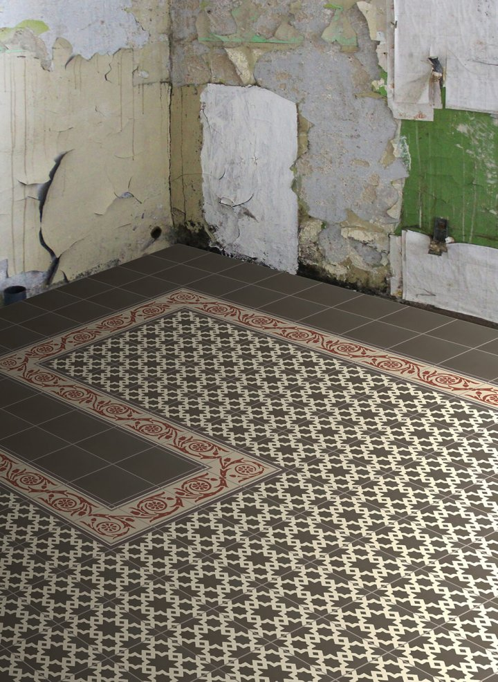 Floor tiles Floor Tiles multi-coloured Layouts and patterns SF 258 F