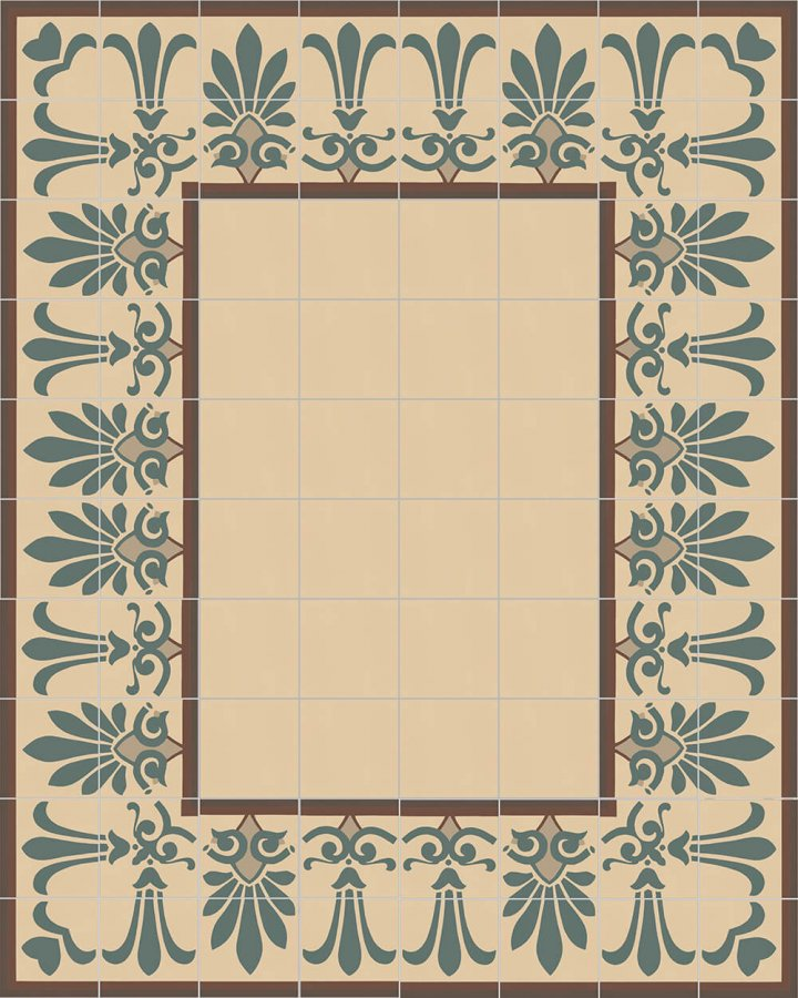 Floor tiles Floor Tiles multi-coloured Layouts and patterns SF 303 B e oben
