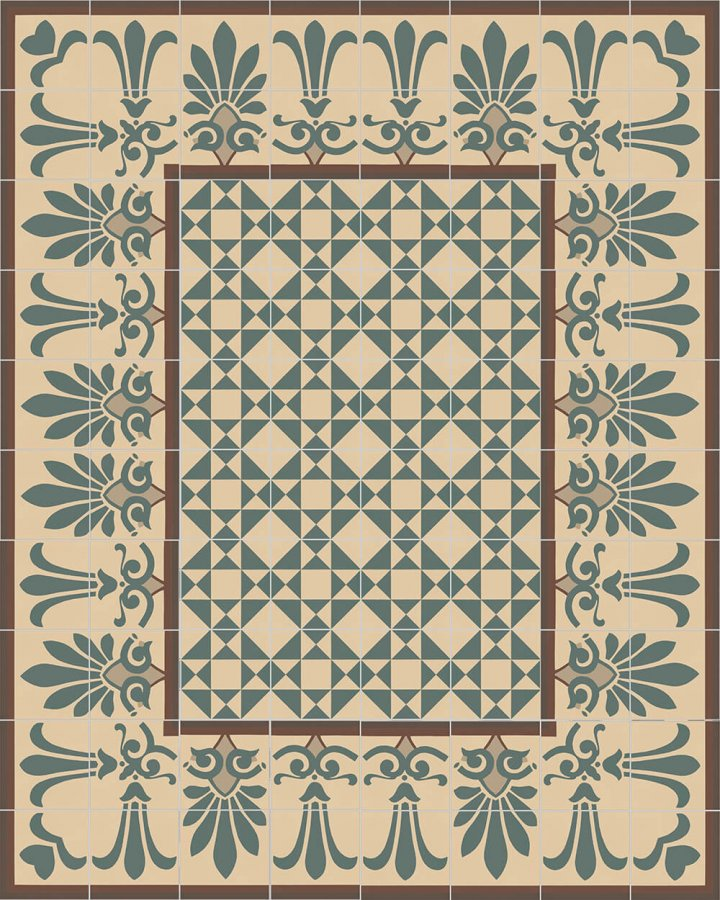 Floor tiles Floor Tiles multi-coloured Layouts and patterns SF 304 B oben