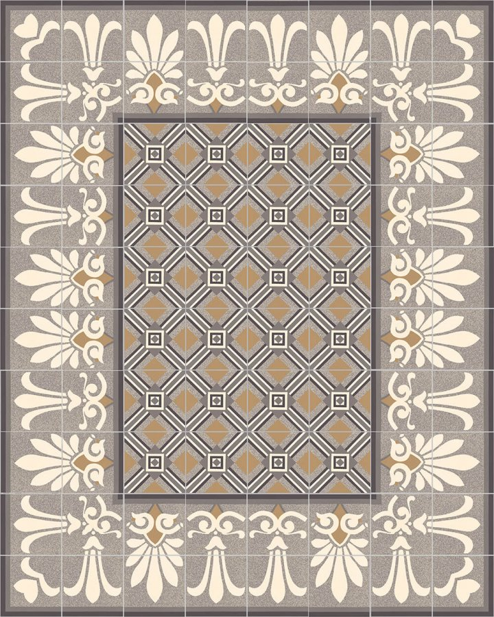 Floor tiles Floor Tiles multi-coloured Layouts and patterns SF 303  C e oben