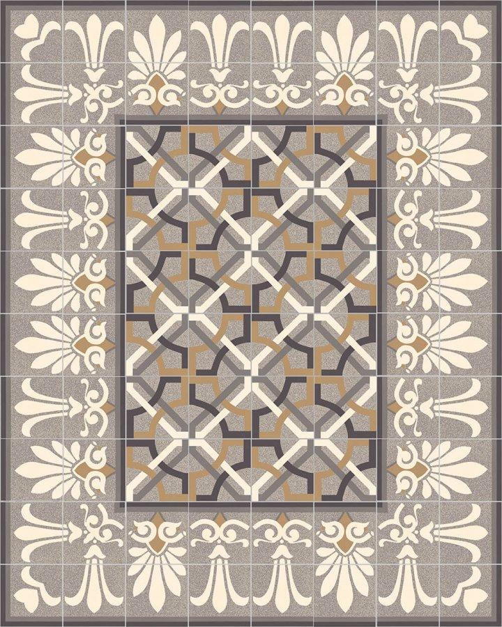 Floor tiles Floor Tiles multi-coloured Layouts and patterns SF 304 C oben