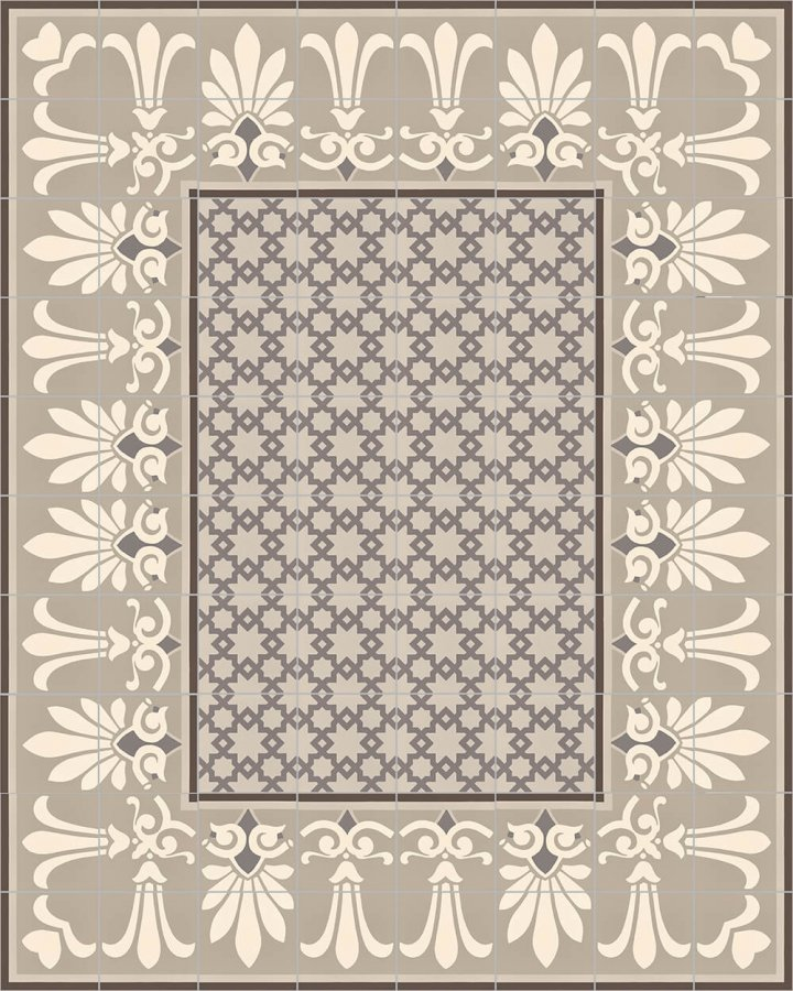 Floor tiles Floor Tiles multi-coloured Layouts and patterns SF 303 E uneten