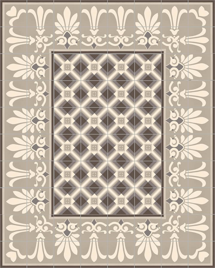 Floor tiles Floor Tiles multi-coloured Layouts and patterns SF 559 E