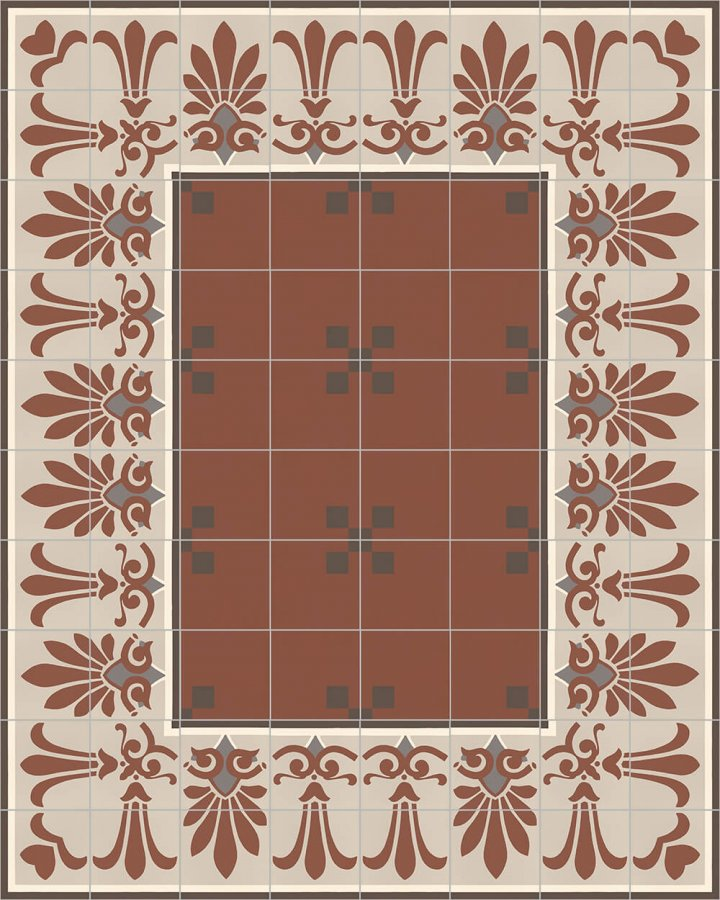 Floor tiles Floor Tiles multi-coloured Layouts and patterns SF 303 F unten