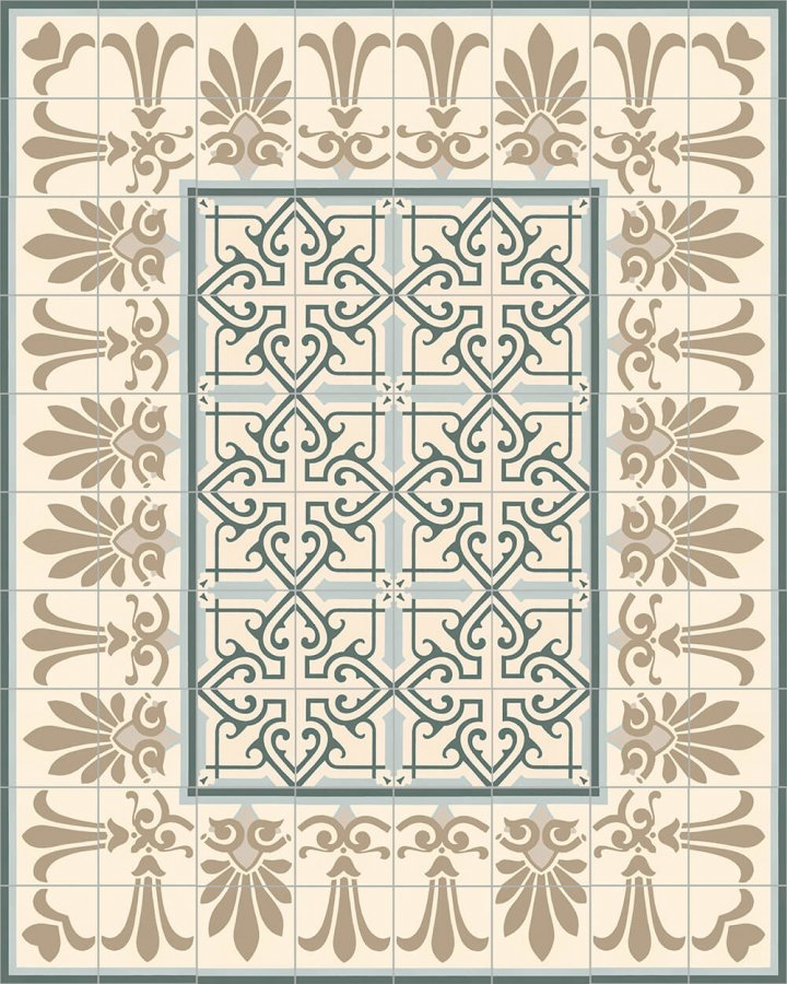 Floor tiles Floor Tiles multi-coloured Layouts and patterns SF 304 G unten