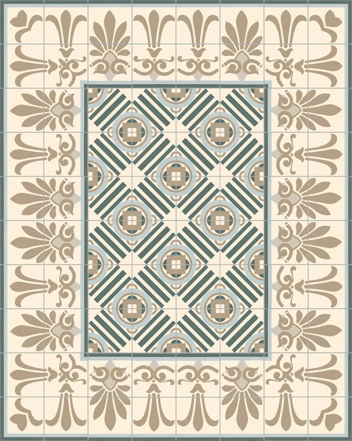 Floor tiles Floor Tiles multi-coloured Layouts and patterns SF 303 G e oben