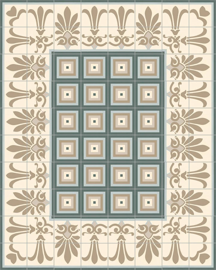 Floor tiles Floor Tiles multi-coloured Layouts and patterns SF 303 G e unten