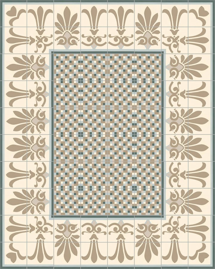 Floor tiles Floor Tiles multi-coloured Layouts and patterns SF 303 G oben