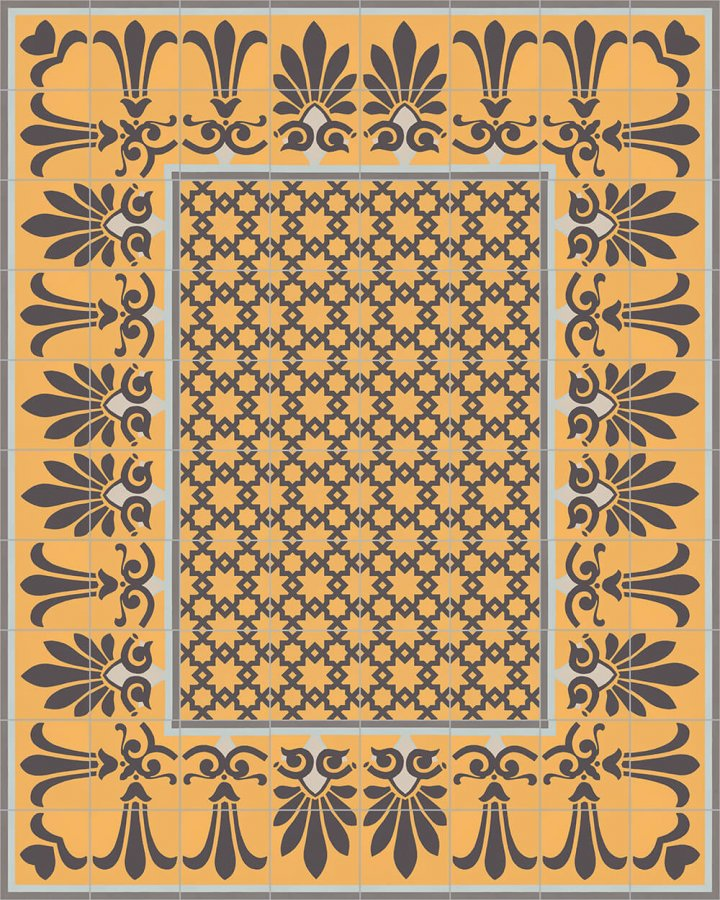 Floor tiles Floor Tiles multi-coloured Layouts and patterns SF 304 H oben