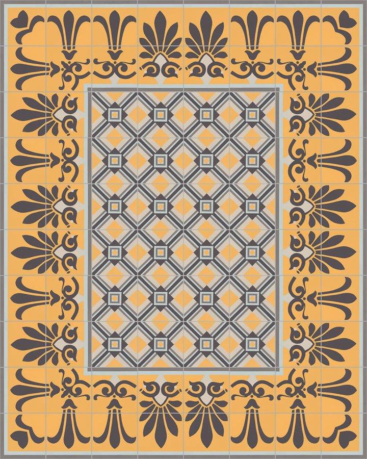Floor tiles Floor Tiles multi-coloured Layouts and patterns SF 303 H e unten