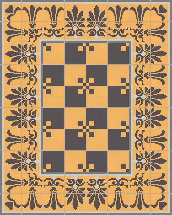 Floor tiles Floor Tiles multi-coloured Layouts and patterns SF 303 H unetn
