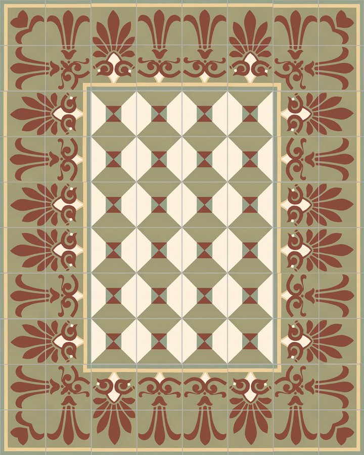 Floor tiles Floor Tiles multi-coloured Layouts and patterns SF 402 I