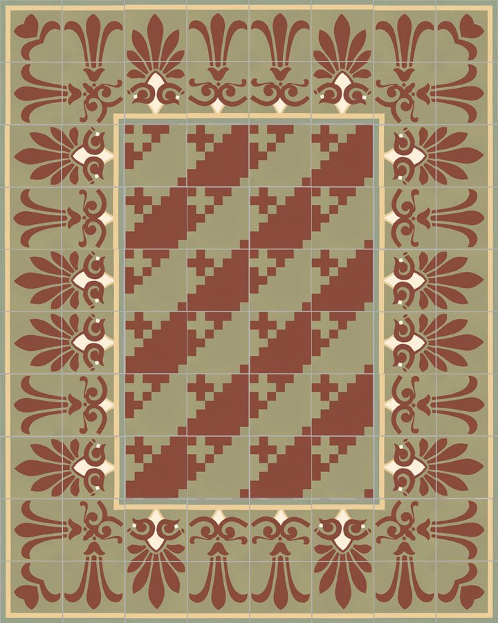 Floor tiles Floor Tiles multi-coloured Layouts and patterns SF 303 I e oben
