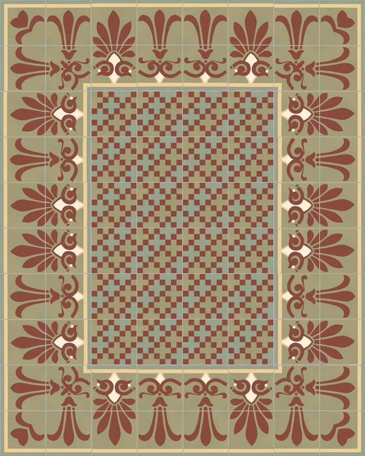 Floor tiles Floor Tiles multi-coloured Layouts and patterns SF 303 I unten
