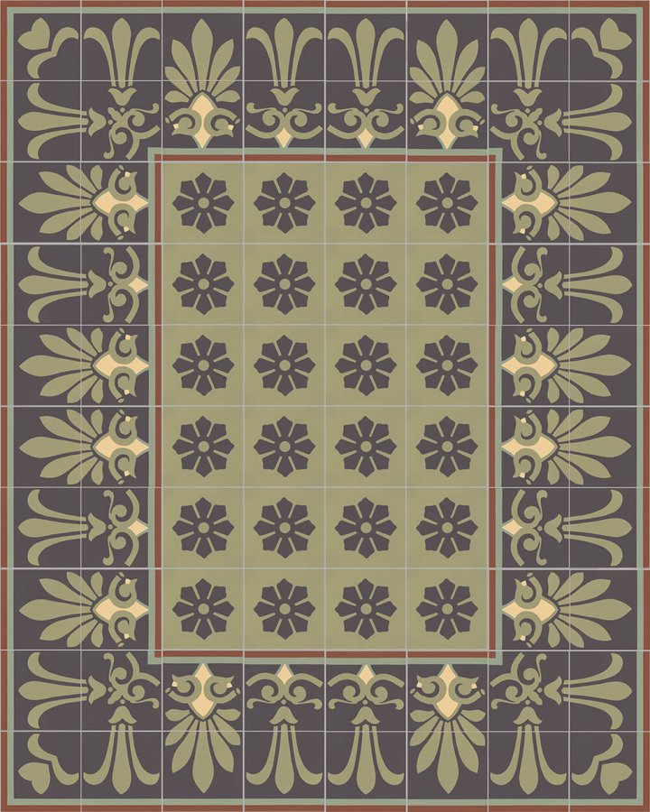 Floor tiles Floor Tiles multi-coloured Layouts and patterns SF 304 J oben