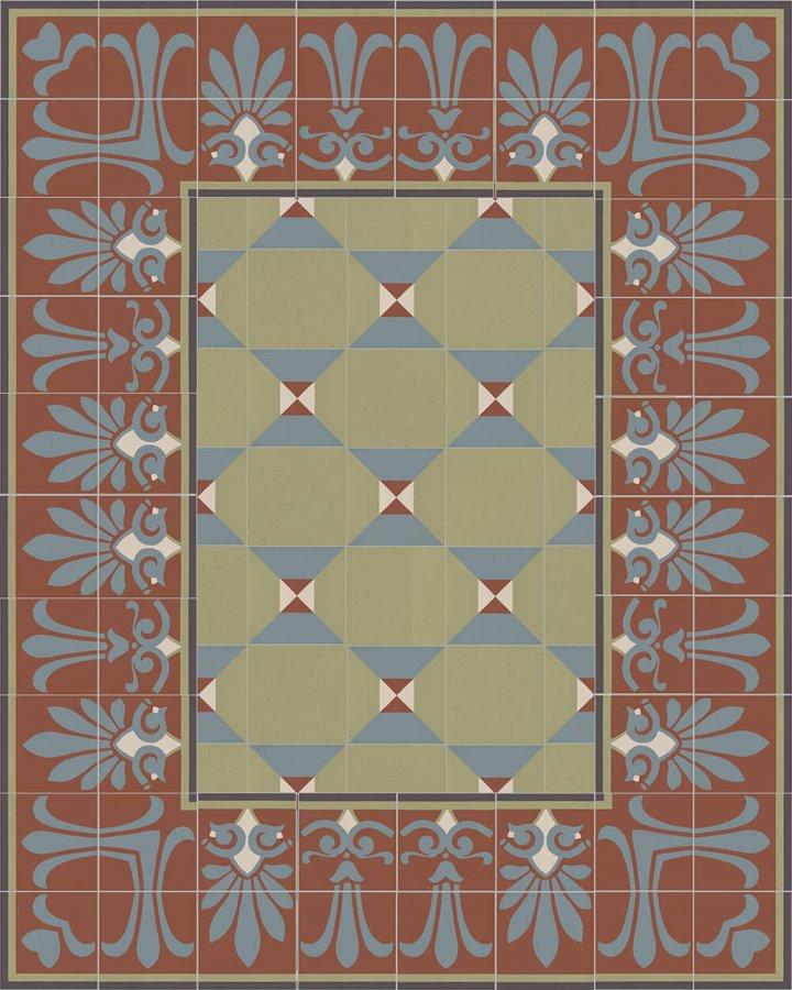 Floor tiles Floor Tiles multi-coloured Layouts and patterns SF 303 L unten