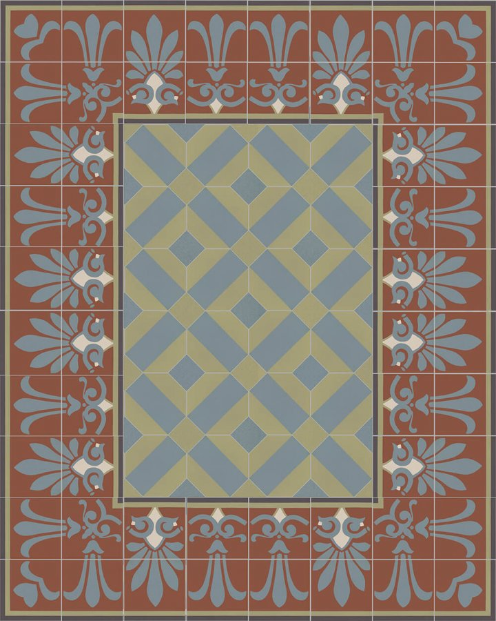 Floor tiles Floor Tiles multi-coloured Layouts and patterns SF 303 L e oben