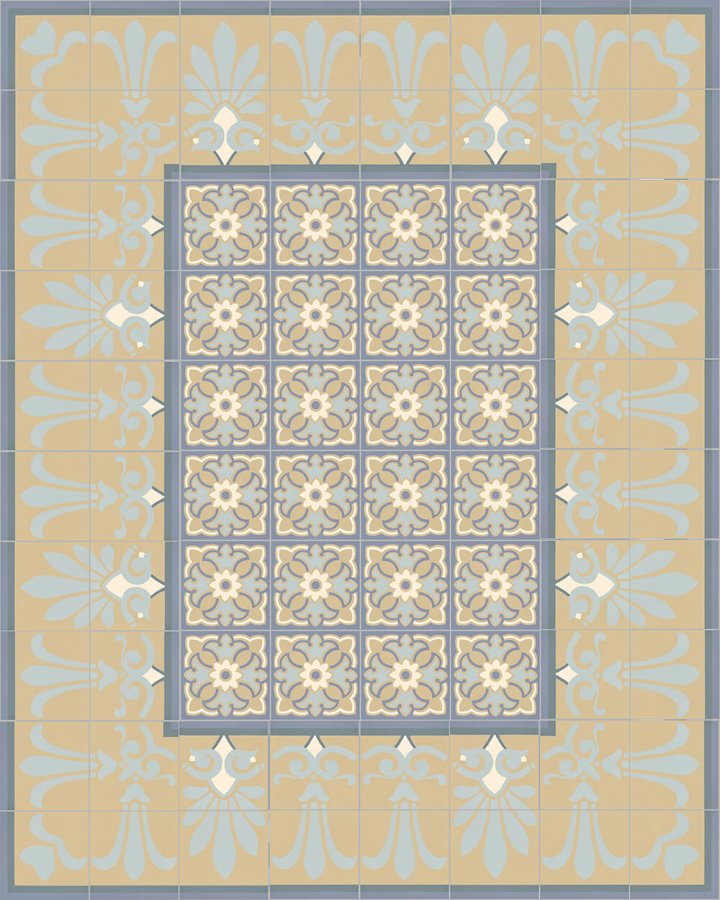 Floor tiles Floor Tiles multi-coloured Layouts and patterns SF 303 O e unten